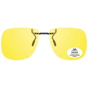 Yellow Premium fixed Clip On Sunglasses