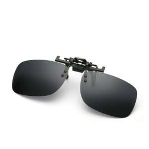 Small Polarised Clip On Sunglasses