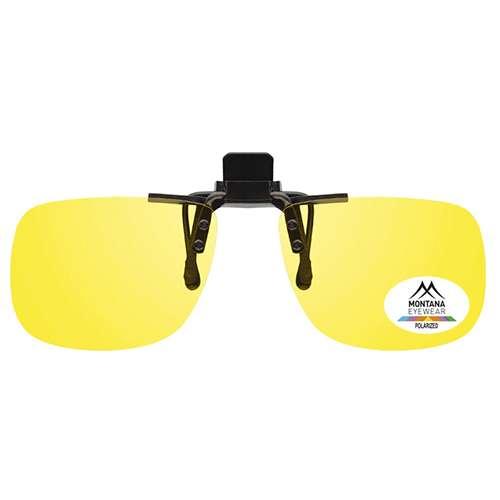 Small Fixed Clip On Sunglasses