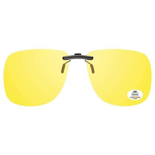 Yellow Montana Eyewear Clip On Sunglasses