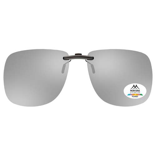 Silver Montana Eyewear Clip On Sunglasses