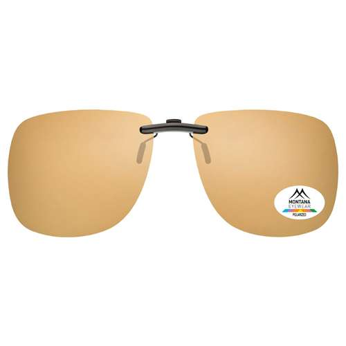 Sandy Colour Montana Eyewear Clip On Sunglasses