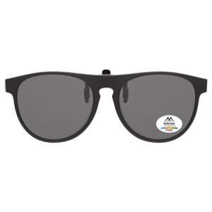 Square Wayfarers Clip on Sunglasses