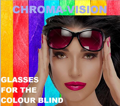 Luxury Chromavision Glasses For The Colour Blind