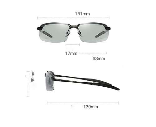 Fury Color Photochromic Day Driving Glasses